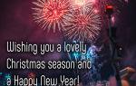 Открытки с новым годом и рождеством на английском