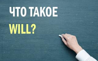 Что такое will, 'll или won't — будущее время в английском языке