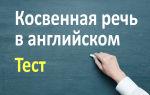 Упражнения на косвенную речь в английском языке (Reported speech)