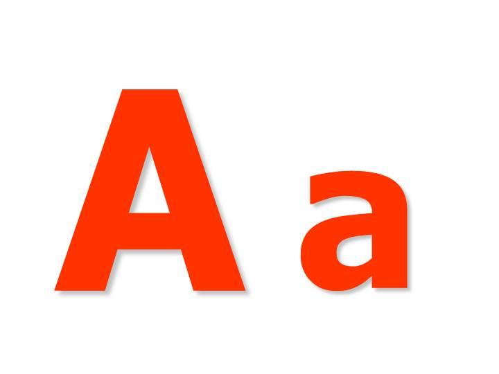 Как пишется русская буква а на английском языке: правило ...